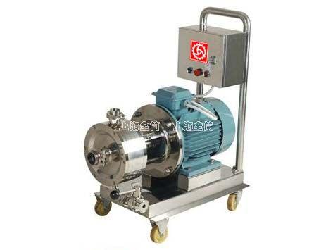 可移动式管线式乳化机