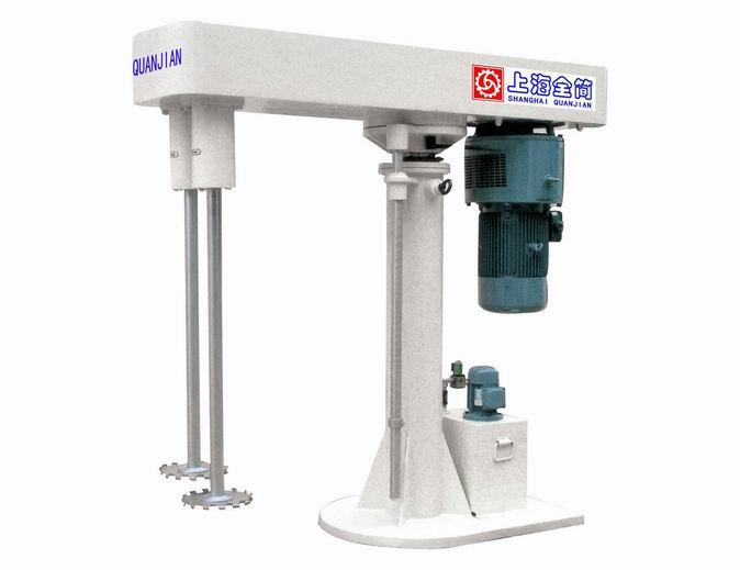 QFS-IIA型液压升降双轴分散机